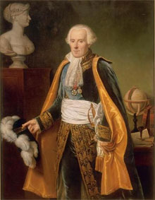 Portait of Laplace, oil on canvas, by Jean-Baptiste Paulin Guérin. Image courtesy of the Museum of Versailles.