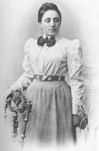 Emmy Noether, (23 March 1882 – 14 April 1935), German mathematician.