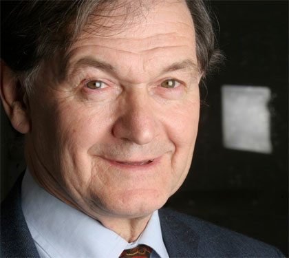 Roger Penrose, who propelled Einstein's theory of General Relativity back into the mainstream of physics
